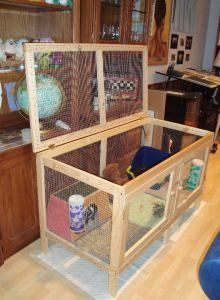 How To Build An Indoor Rabbit Hutch1