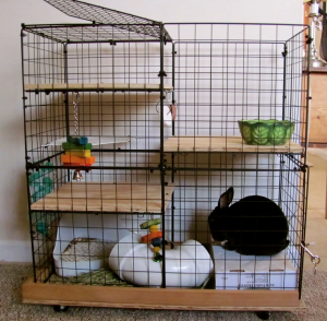 diy indoor rabbit cage make your own rabbit hutch