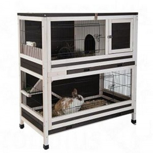 Two Story Indoor Rabbit Hutch